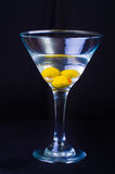 3 Olive Martini Imagem de Stock Royalty Free