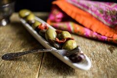 Olive medley Royalty Free Stock Photos
