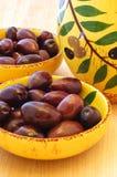 Olive nere Fotografia Stock Libera da Diritti