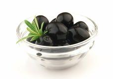 Olive nere Fotografie Stock