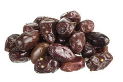 Olive nere di Kalamata Fotografia Stock