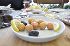 Olive nere e verdi Immagine Stock