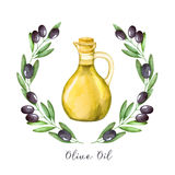 Olive oi Royalty Free Stock Images