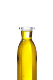 Olive oil. In a bottle isolated on white Royalty Free Stock Photo