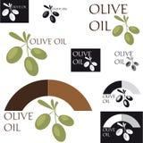 Olive Oil. Set of labels for Olive Oil Royalty Free Stock Image