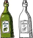 Olive Oil Royaltyfria Foton