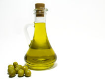 Olive Oil And Olive Royalty Free Stock Image