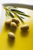 Olive oil background Stock Image