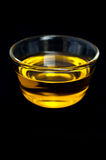 Olive oil - black background Stock Image