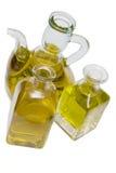 Olive oil botles. Stock Photos