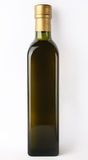 Olive oil bottle. Isolated bottle of olive oil Royalty Free Stock Photo