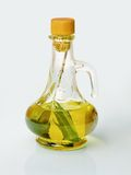 Olive oil bottle Stock Image