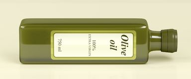 Olive Oil Bottle Image stock