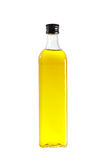 Olive oil bottle. Isolated on white background Stock Images
