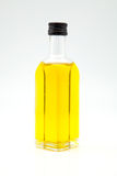 Olive oil in a bottle Royalty Free Stock Photography