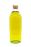 Olive oil bottle. On white Stock Photography