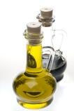 Olive oil bottle Royalty Free Stock Photo