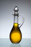 Olive oil bottle. Stock Images