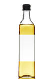 Olive oil bottle with blank label Stock Photography