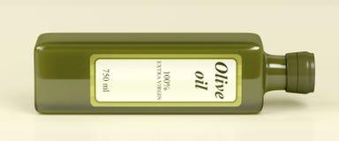 Olive oil bottle Stock Image