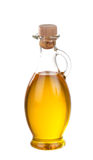 Olive Oil In Bottle Isolated Stock Photography