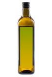 Olive oil bottle isolated on white Royalty Free Stock Image