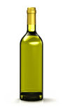 Olive oil bottle on white Stock Photos