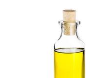 Olive oil bottle on white background, isolated Stock Photos