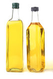 Olive oil bottles Royalty Free Stock Image