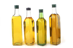 Olive oil bottles Stock Photo