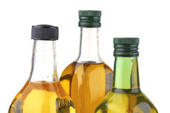 Olive oil bottles Royalty Free Stock Image