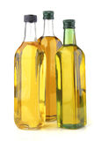 Olive oil bottles Stock Photos