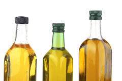Olive oil bottles Stock Image