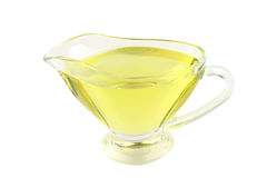 Olive oil bowl Royalty Free Stock Photography