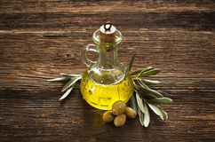 Olive oil Stock Photo