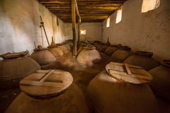 Olive oil cellar Royalty Free Stock Image