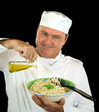Olive Oil Chef Royalty Free Stock Photos