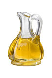 Olive Oil Cruet (with clipping path) Royalty Free Stock Image