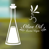 Olive oil design Royalty Free Stock Image