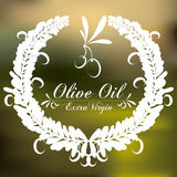 Olive oil design Royalty Free Stock Photos