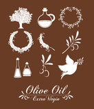 Olive oil design Royalty Free Stock Photography