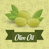 Olive oil design. Stock Photography