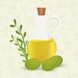 Olive oil design. Stock Photos
