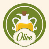 Olive oil design. Royalty Free Stock Photography
