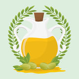 Olive oil design. Stock Photos
