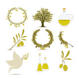 Olive oil design Stock Photo