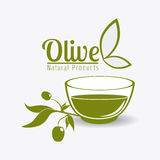 Olive oil design. Royalty Free Stock Image