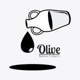 Olive oil design. Stock Photo