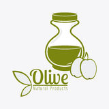 Olive oil design. Royalty Free Stock Images