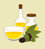 Olive oil design, vector illustration. Royalty Free Stock Photos